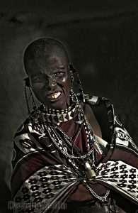 mujer masai low