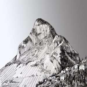 Pica de Peñamellera, Picos de Europa
