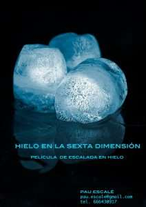 Cartel - Hielo en la sexta dimensión
