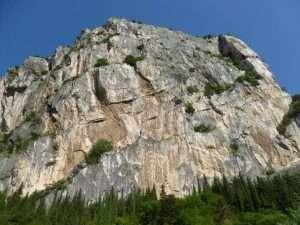 Los 300 mts de la pared del Calodri