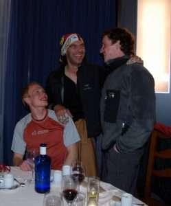 Pelut con Pavel y Vladimir en Terradets